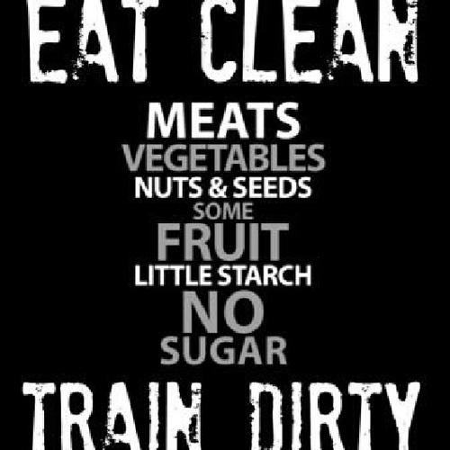 eat clean train