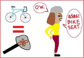 sore bum cycling