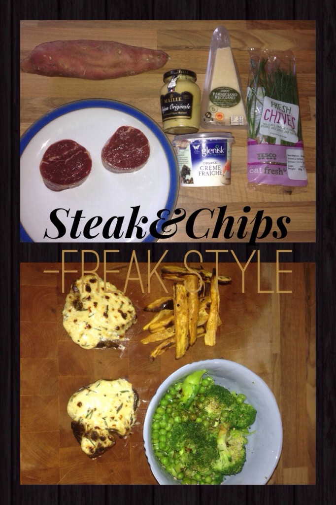 steak and chip prer launch