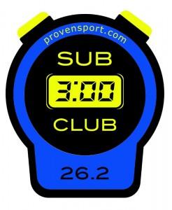 tucker sub 3 hour club